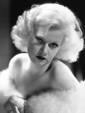 "Jean Harlow. ""Red Dust"" 1932, Directed by Victor Fleming Photographic Print"