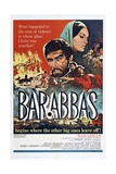 Barabbas, 1962, Directed by Richard Fleischer Giclee Print
