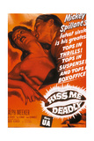 "Mickey Spillane's Kiss Me Deadly, 1955, ""Kiss Me Deadly"" Directed by Robert Aldrich Giclee Print"