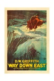 Way Down East, 1920, Directed by D. W. Griffith Giclee Print
