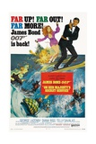 """007, James Bond: On Her Majesty's Secret Service"" 1969, Directed by Peter Hunt Giclee Print"