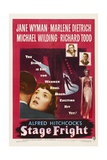 Stage Fright, 1950, Directed by Alfred Hitchcock Giclee Print