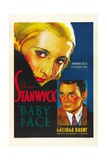 Baby Face, 1933, Directed by Alfred E. Green Giclee Print
