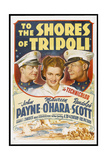 "Tripoli, 1942, ""To the Shores of Tripoli"" Directed by H. Bruce ""Lucky"" Humberstone Giclee Print"