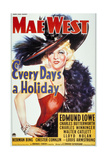 Every Day's a Holiday, 1938, Directed by A. Edward Sutherland Giclee Print