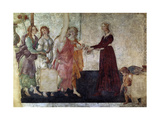 Venus And the Graces Offering Gifts To a Young Girl, 1486, Italian Renaissance Giclee Print by Sandro Botticelli