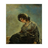 The Milkmaid of Bordeaux, 1825-1827, Spanish School Giclee Print by Francisco De Goya