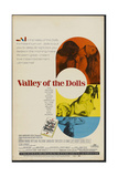 Valley of the Dolls, 1967, Directed by Mark Robson Giclée-Druck