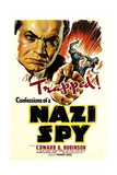 Confessions of a Nazi Spy, 1939, Directed by Anatole Litvak Giclee Print
