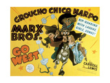 "Marx Brothers Go West, 1940 ""Go West"" Directed by Edward Buzzell Giclee Print"