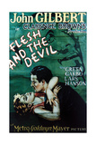 The Flesh And the Devil, 1926, Directed by Clarence Brown Giclee Print