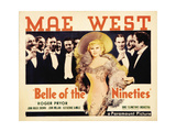 """Belle of New Orleans, 1934, """"Belle of the Nineties"""" Directed by Leo Mccarey Giclee Print"""
