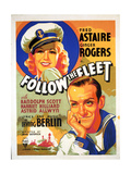 Follow the Fleet, 1936, Directed by Mark Sandrich Giclee Print