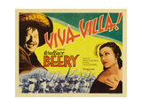 Viva Villa!, 1934, Directed by Jack Conway Giclee Print
