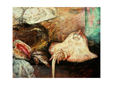 Fishstand With Ray, 1892 Giclee Print by James Ensor