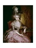 María Pilar De La Cerda Y Marín De Resente, Duchess of Najera', Ca. 1795, Spanish School Giclee Print by Vicente Lopez portaña