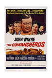 The Comancheros, 1961, Directed by Michael Curtiz Giclee Print