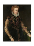 "Jane Dormer, Duchess of Feria """" Second Half 16th Century, Flemish School Giclee Print by Antonio Moro"