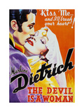 "Caprice Espagno, 1935, ""The Devil Is a Woman"" Directed by Josef Von Sternberg Giclee Print"