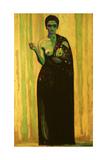 """La Sibil.la"" 1913 Giclee Print by Hermen Anglada-camarassa"