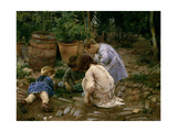 The Small Naturalists, 1893, Spanish School Giclee Print by Jose Jimenez aranda