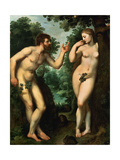 Adam And Eve, Ca. 1597 Giclee Print by Peter Paul Rubens