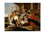 Adoration of the Sheperds, 1640 Giclee Print by Louis Le Nain
