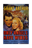 "Cary Grant. ""-only Angels Have Wings"" 1939, ""Only Angels Have Wings"" Directed by Howard Hawks Reproduction procédé giclée"