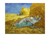 'The Siesta' or 'After Millet', 1889-1890 Giclee Print by Vincent van Gogh