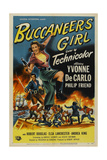 Buccaneer's Girl, 1950, Directed by Frederick De Cordova Giclee Print