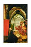 Inssenheim Altar: Annunciation, 1515 Giclee Print by Matthias Grünewald