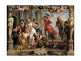 Achilles Discovered by Ulysses Among the Daughters of Lycomedes, 1630-1635, Flemish School Giclee Print by Peter Paul Rubens
