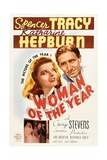 Woman of the Year, 1942, Directed by George Stevens Giclee Print