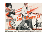"Jesse James, 1957, ""The True Story of Jesse James"" Directed by Nicholas Ray Giclee Print"