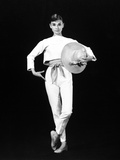 "Audrey Hepburn. ""Funny Face"" 1957, Directed by Stanley Donen Photographic Print"