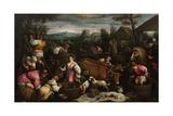 "September ""Libra"" Italian School Giclee Print by Francesco Bassano the younger"