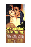 "John Ford's My Darling Clementine, 1946, ""My Darling Clementine"" Directed by John Ford Giclee Print"