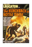 The Hunchback of Notre Dame, 1939, Directed by William Dieterle Giclee Print