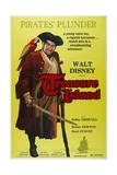 "Robert Louis Stevenson's Treasure Island, 1950 ""Treasure Island"" Directed by Byron Haskin Giclee Print"