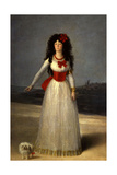 Duchess of Alba, 1795. Madrid, the Dukes of Alba's Collection Giclee Print by Francisco De Goya