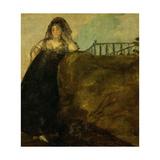 Leocadia Zorrilla, 1820-1823, Spanish School Giclee Print by Francisco De Goya