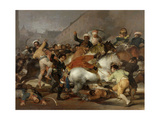 The Second of May 1808 In Madrid: the Charge of the Mamelukes, 1814, Spanish School Giclee Print by Francisco De Goya