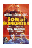 Son of Frankenstein, 1939, Directed by Rowland V. Lee Giclee Print
