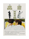 Two for the Road, 1967, Directed by Stanley Donen Reproduction procédé giclée
