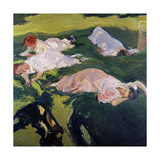The Siesta, 1912 Giclee Print by Joaquin Sorolla