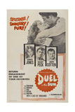 "Lust In the Dust, 1946, ""Duel In the Sun"" Directed by King Vidor Giclée-tryk"