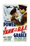 "The Eagle Flies Again, 1941, ""A Yank In the R. A. F."" Directed by Henry King Giclee Print"