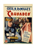 The Crusades, 1935, Directed by Cecil B. Demille Giclee Print