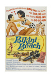 Bikini Beach, 1964, Directed by William Asher Giclée-tryk