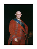 Charles Iv, King of Spain, Ca. 1790, Spanish School Giclee Print by Francisco De Goya